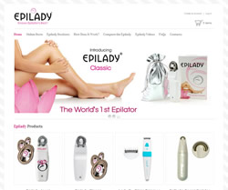 e-commerce website designers epilady